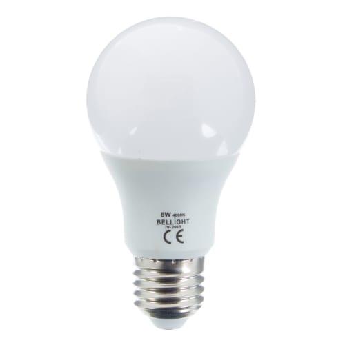 Лампа светодиодная Bellight E27 8 Вт 660 Лм свет холодный белый