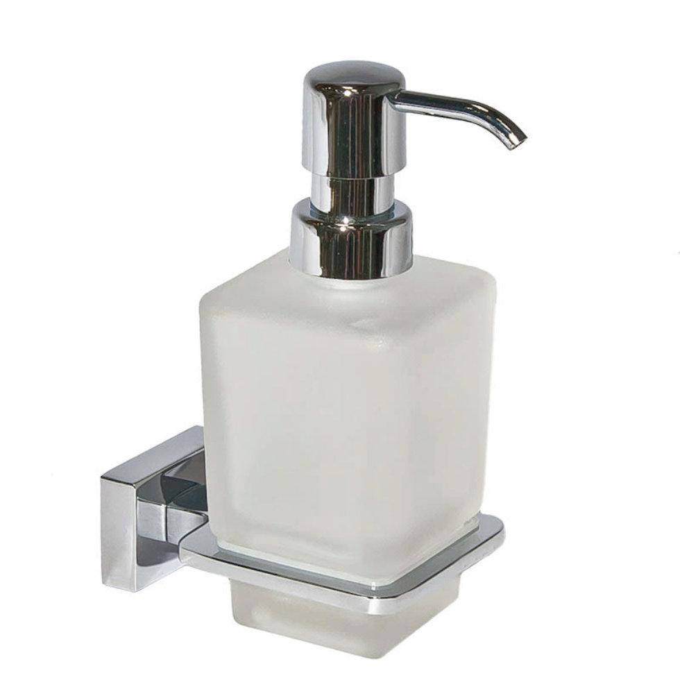 Дозатор подвесной для жидкого мыла «Bruklin», цвет белый