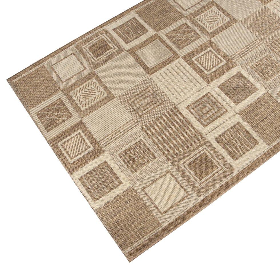 Дорожка ковровая «Дели» джут 1.2 м цвет бежевый