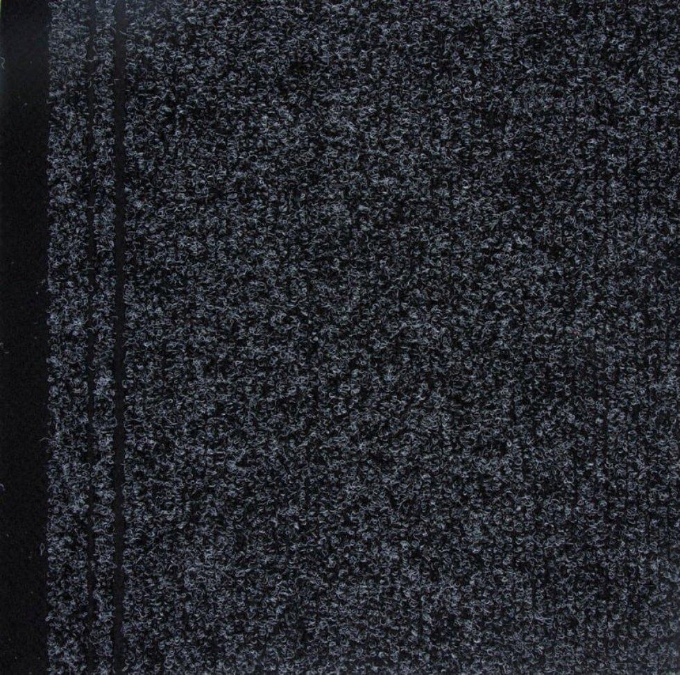 Дорожка ковровая «Noventis Biron 2082» иглопробивная 1 м цвет чёрный