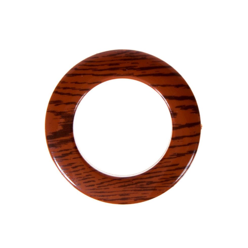 Люверсы 35 мм дерево цвет коричневый 10 шт.