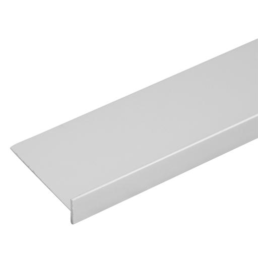Планка для столешницы соединительная под 3D кромку 0.4 см цвет матовый хром