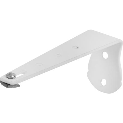 Кронштейн для шин «Atlant» 12 см металл цвет белый