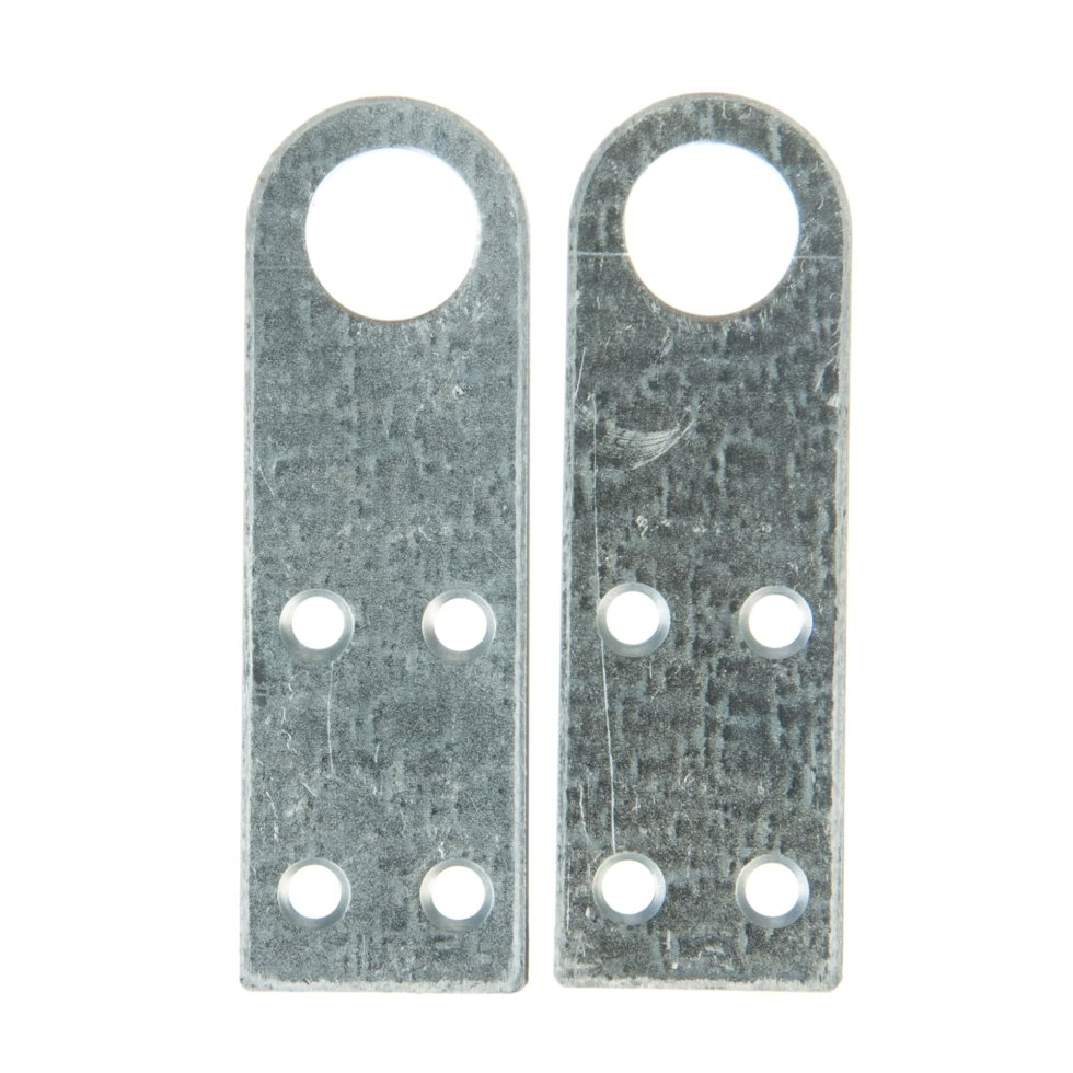 Проушина для замка прямая Pzp 90х30х2 мм, 2 шт.