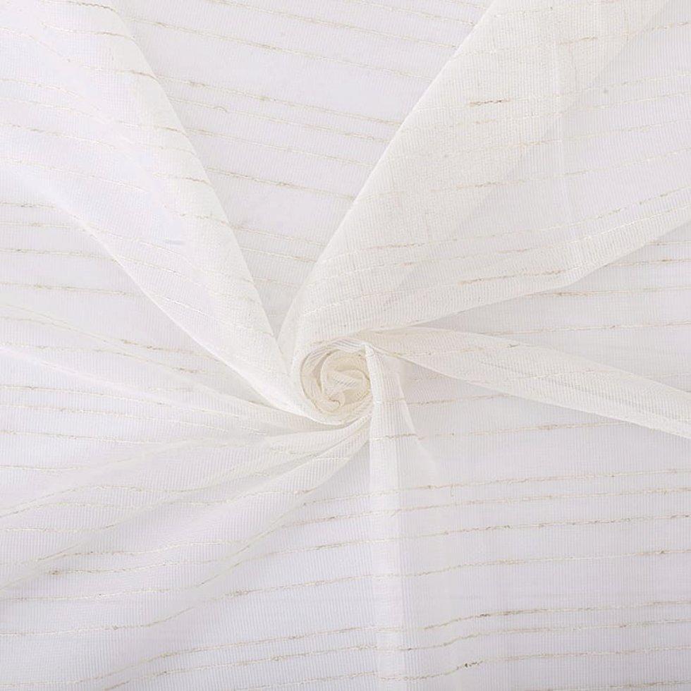 Тюль «Дождик» 1 п/м 280 см сетка цвет бежевый