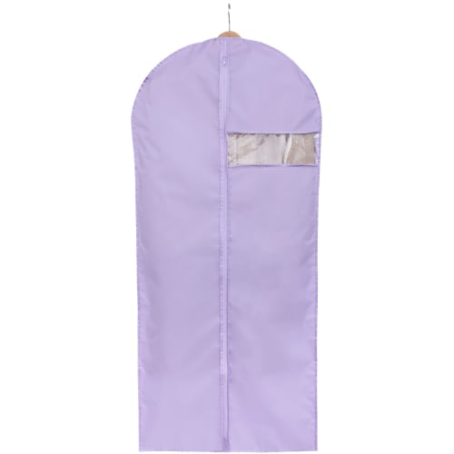 Чехол для одежды Spaceo 60х135 см цвет фиолетовый