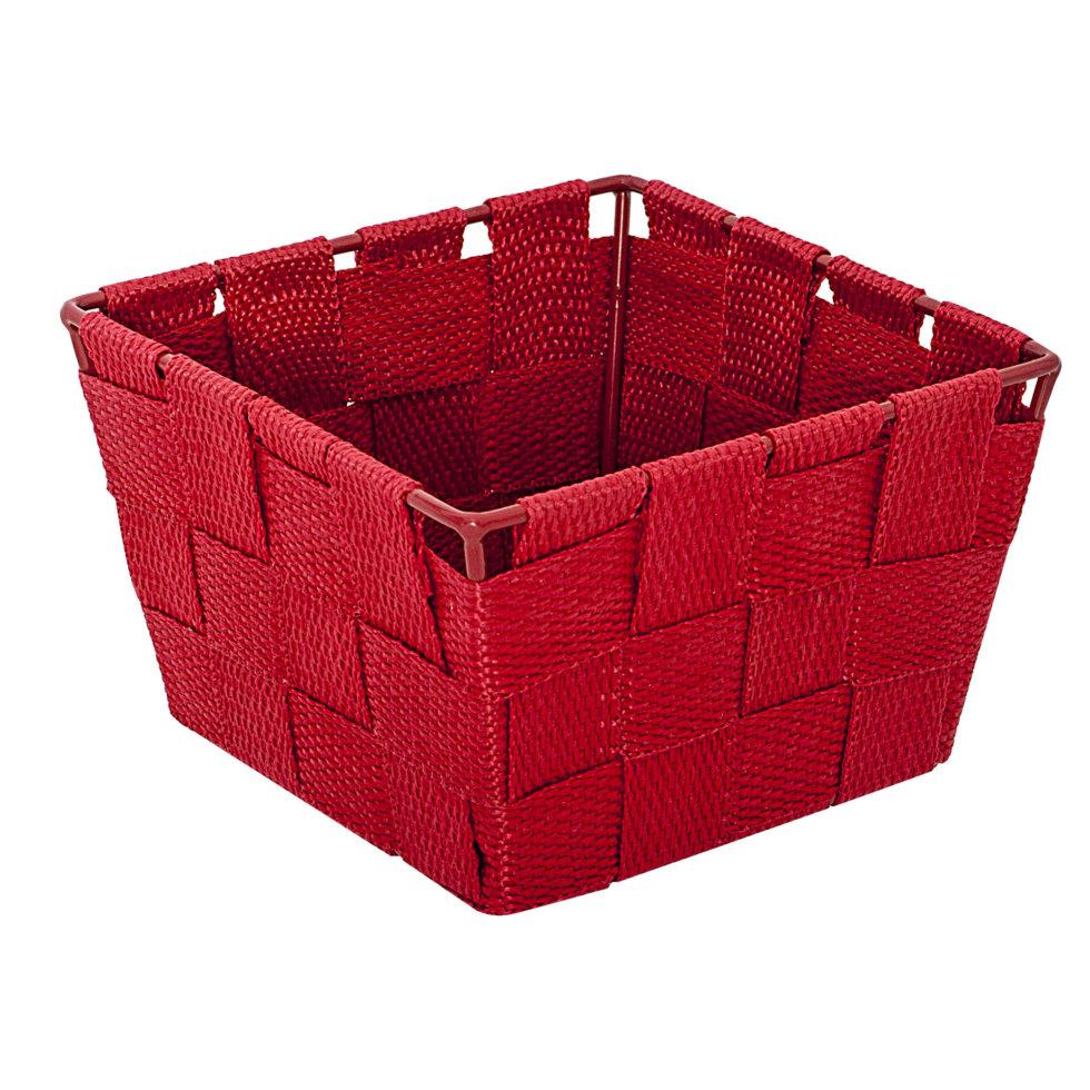 Корзинка нейлоновая Absolu №3, цвет красный