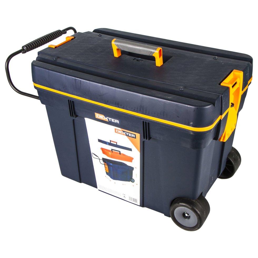Ящик для инструментов Dexter на колёсиках, 62х37.5х42 см