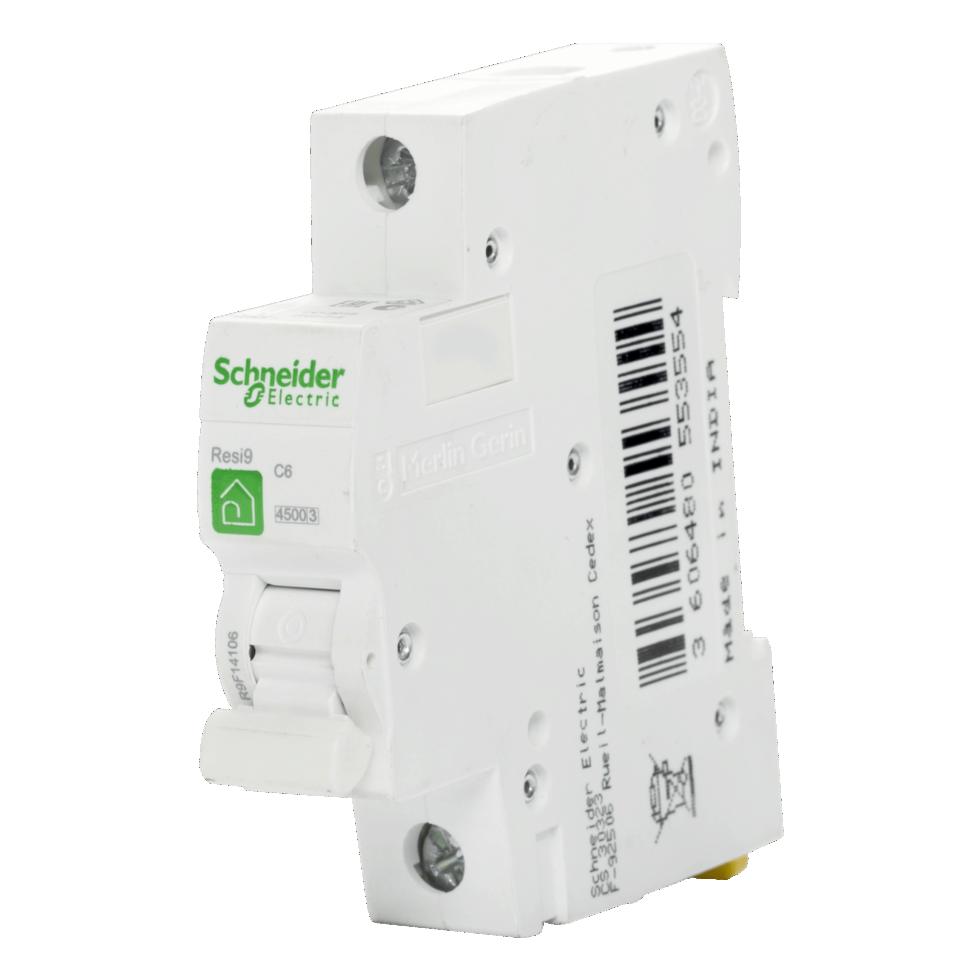 Выключатель автоматический Schneider Electric Resi9 1 полюс 6 A
