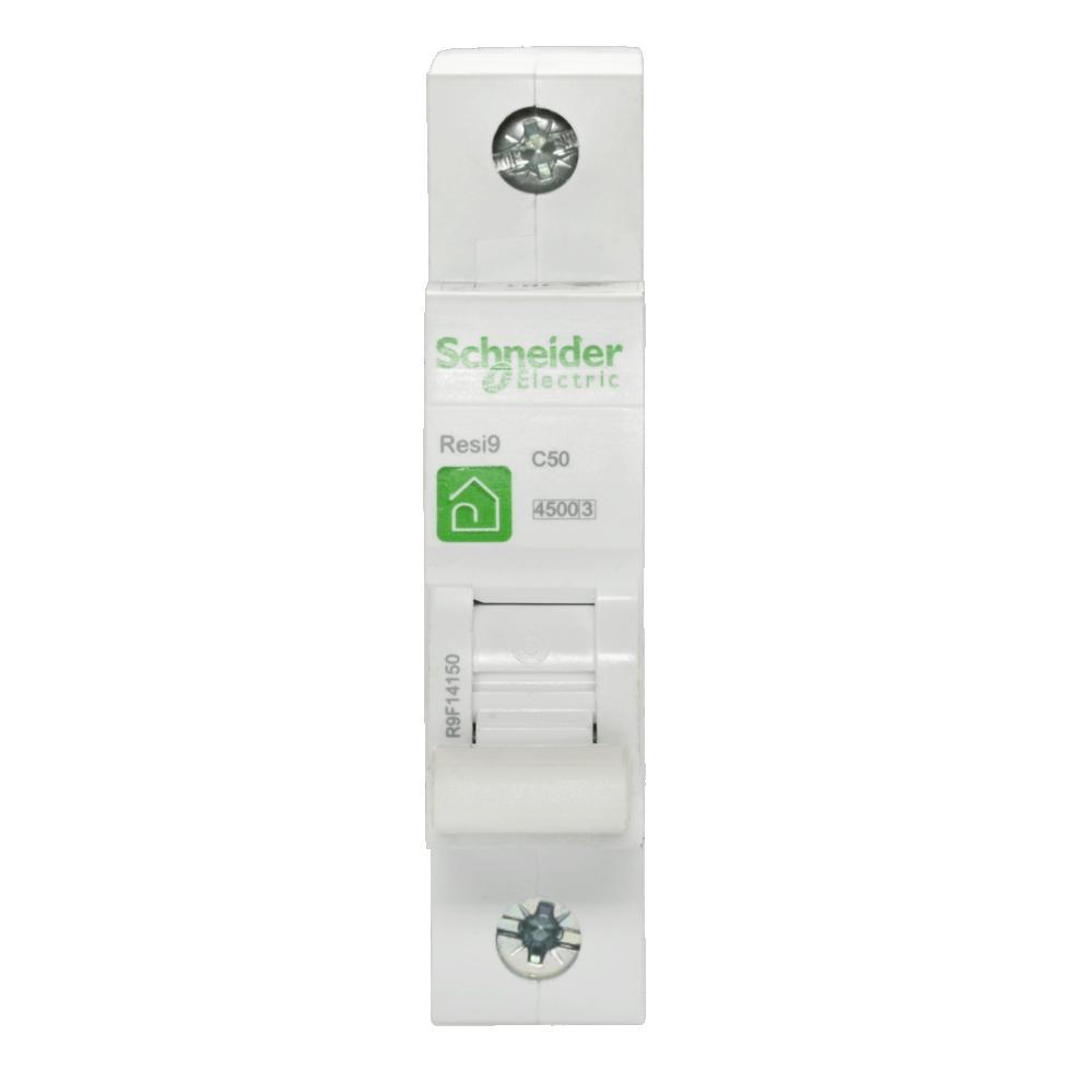 Выключатель автоматический Schneider Electric Resi9 1 полюс 50 A