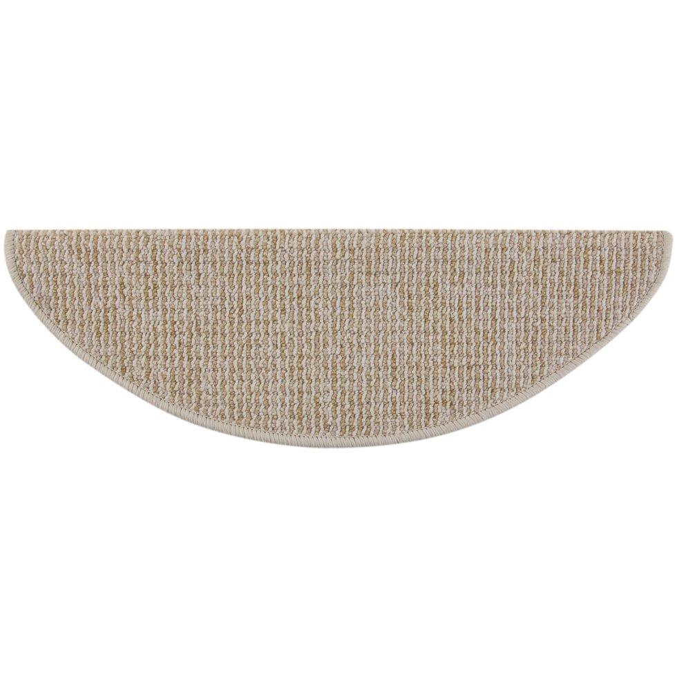 Коврик для ступеней «Caransa» 65x25 см цвет коричневый