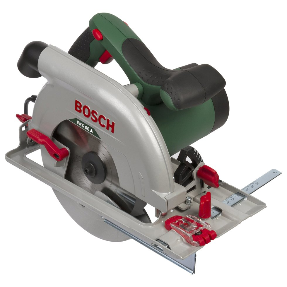 Пила циркулярная Bosch PKS 66А, 1600 Вт, 190 мм