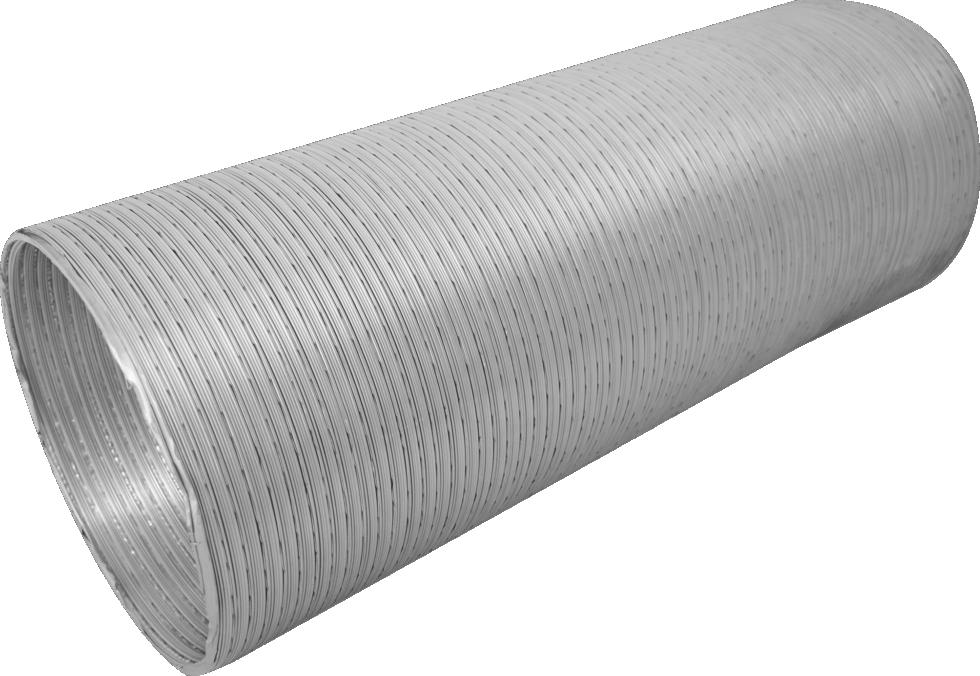 Канал гибкий ЭРА, D125 мм, 0,75-3 м