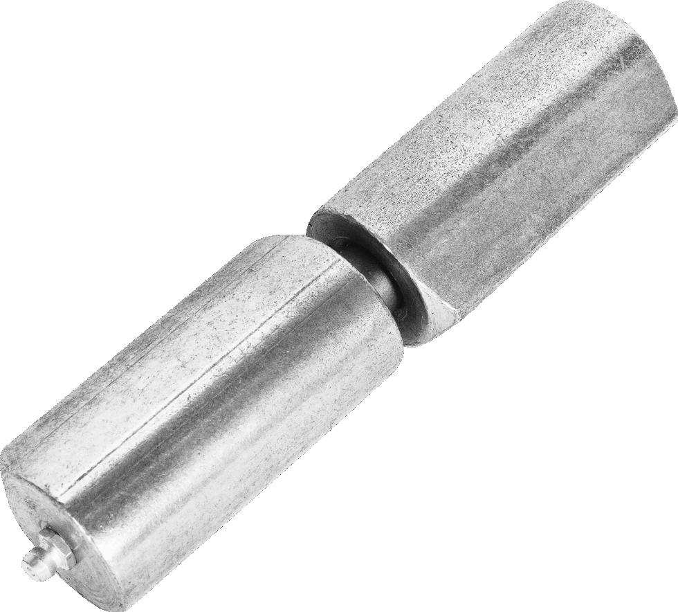 Петля наварная с подшипником, 34x150 мм