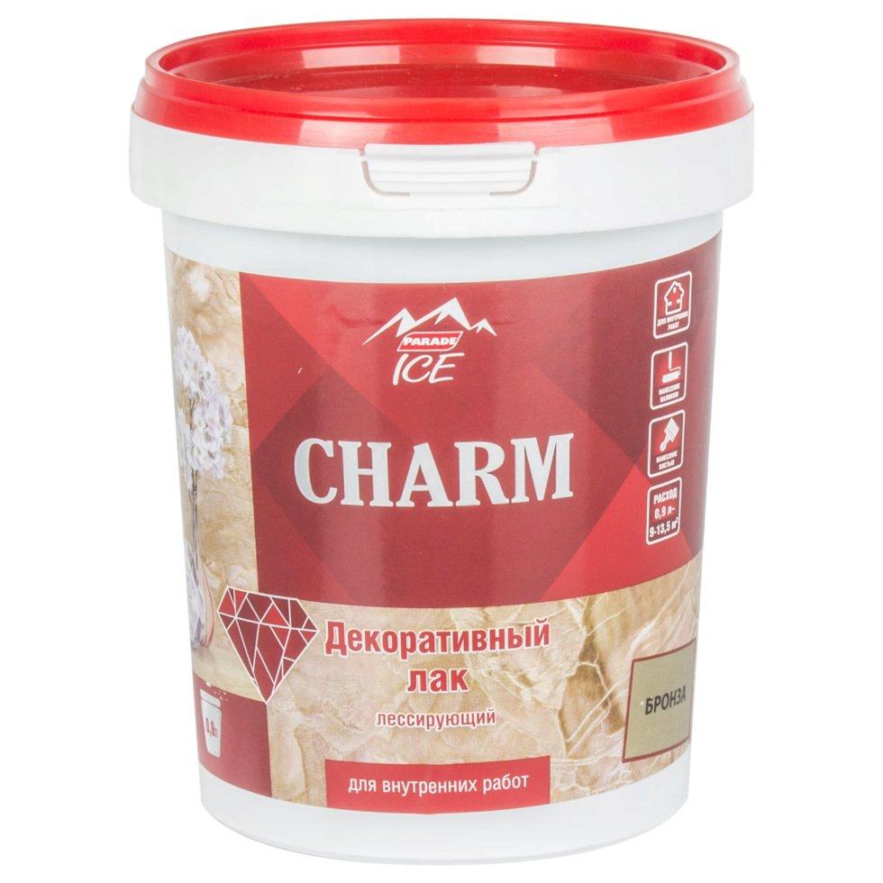 Лак декоративный Parade Ice «Charm», 0.9 л, цвет бронза