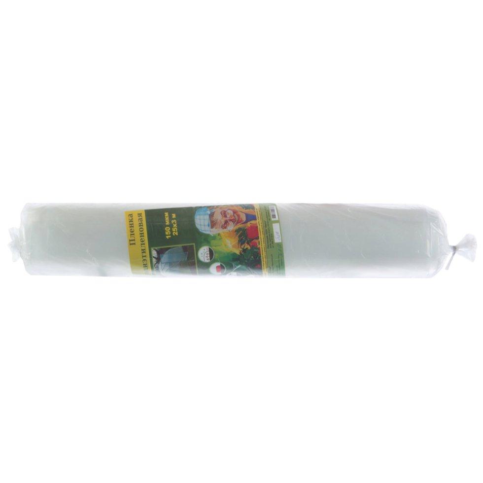 Пленка полиэтиленовая в рулоне, 150 мкм, 1,5 м2, 25 м