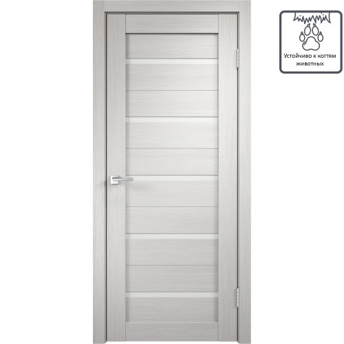 Дверь межкомнатная Дюплекс 80x200 см, цвет белёный дуб