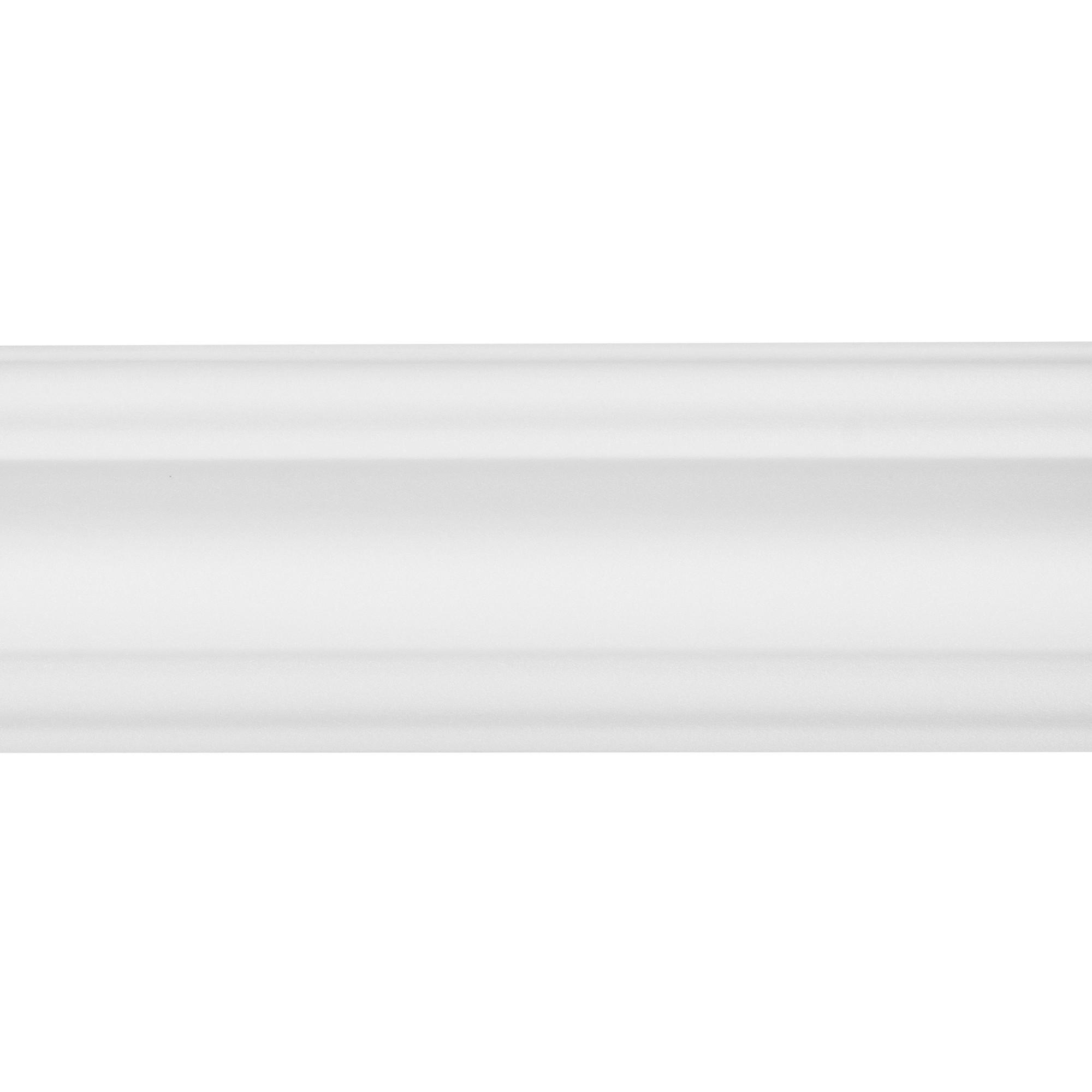 Плинтус потолочный Inspire 07006А 200х7 см цвет белый