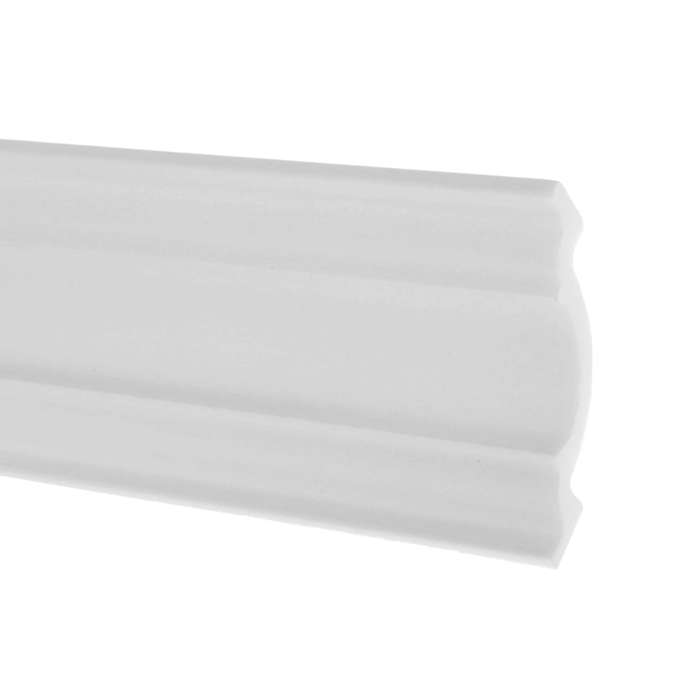 Плинтус потолочный Inspire 11508А 200х11 см цвет белый