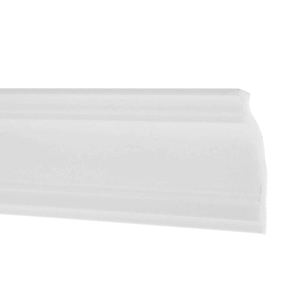 Плинтус потолочный 08018А 200х8 см цвет белый