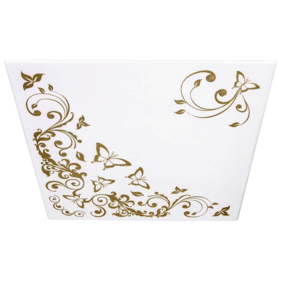 Плита потолочная экструдированная «Гармония», 2 м2, 50х50 см, пенополистирол, цвет золотой