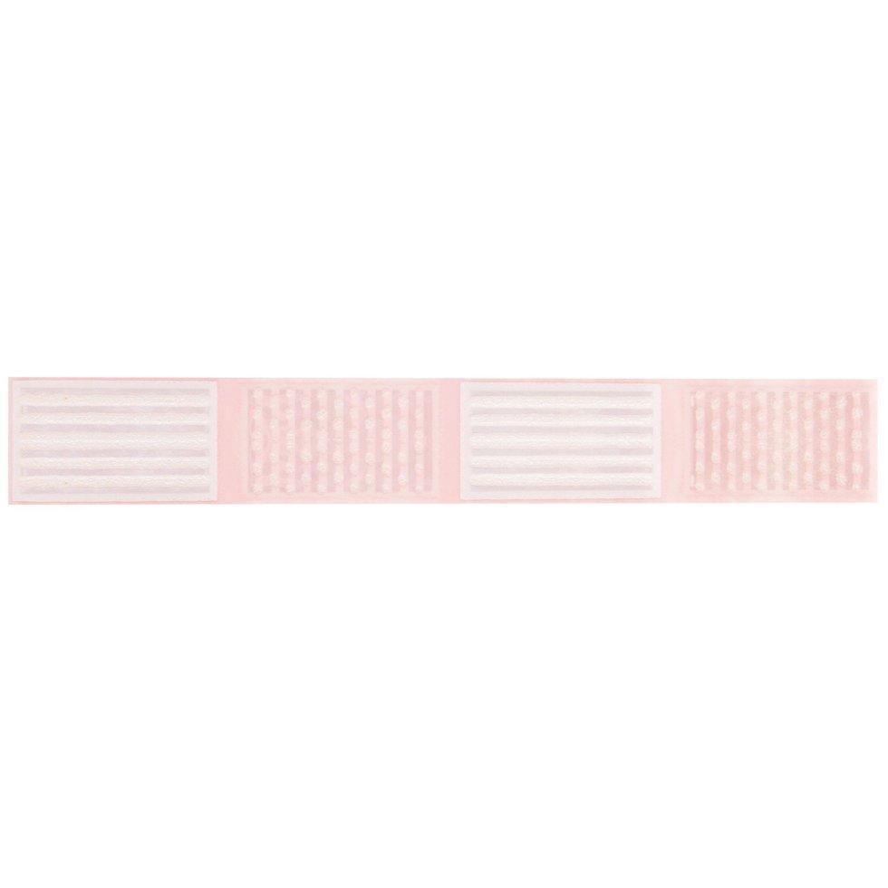 Бордюр «Агата С» 25х3.5 см цвет розовый