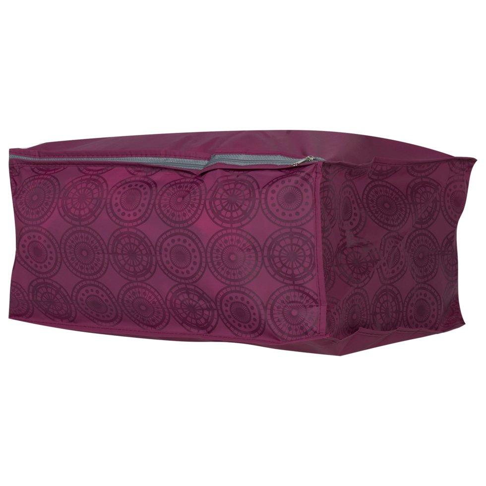 Чехол для одеял 30х40х20 см цвет бордо