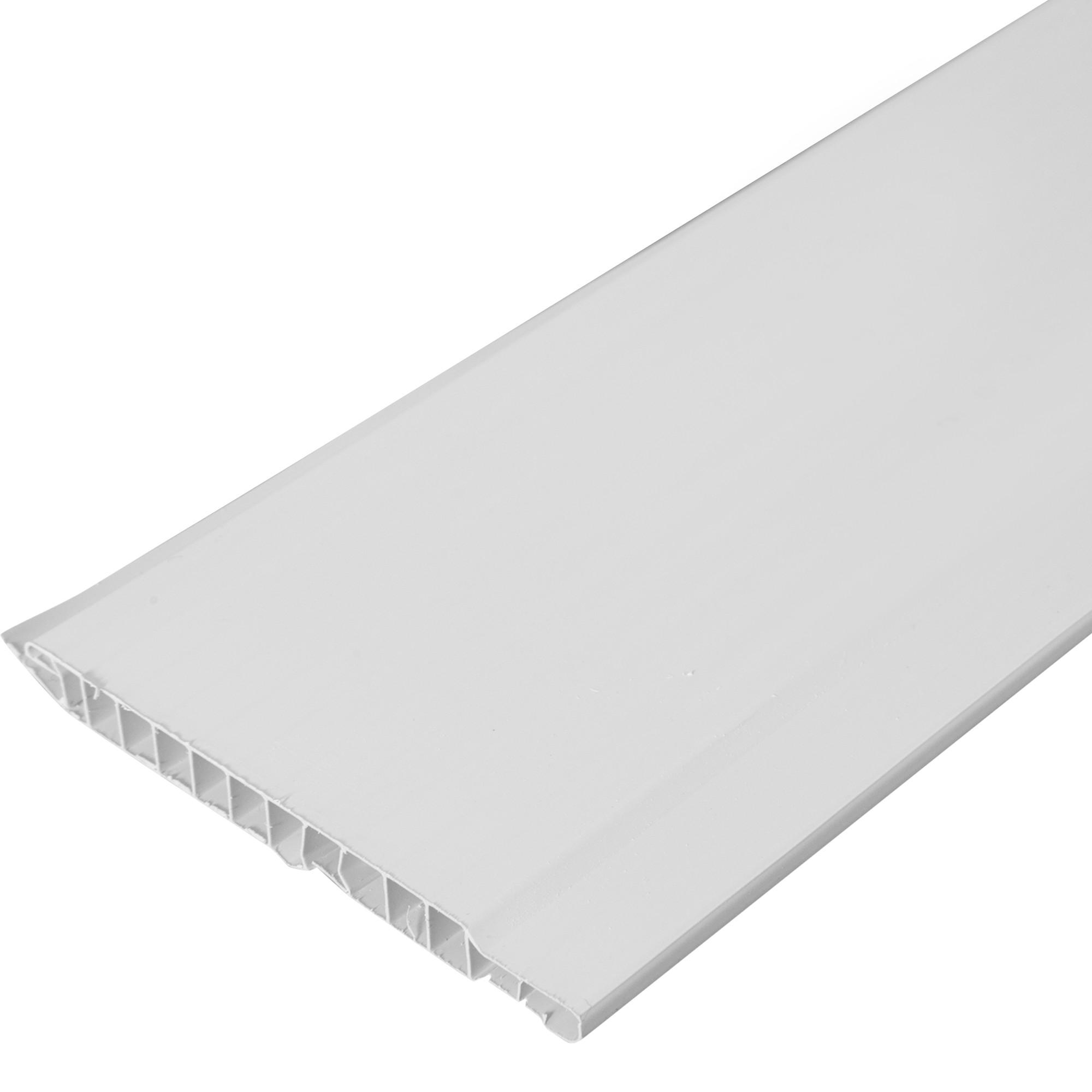 Вагонка ПВХ 10x100x3000 мм, цвет белый