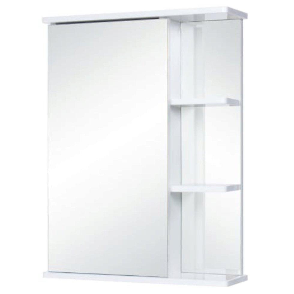 Шкаф зеркальный правый 55 см