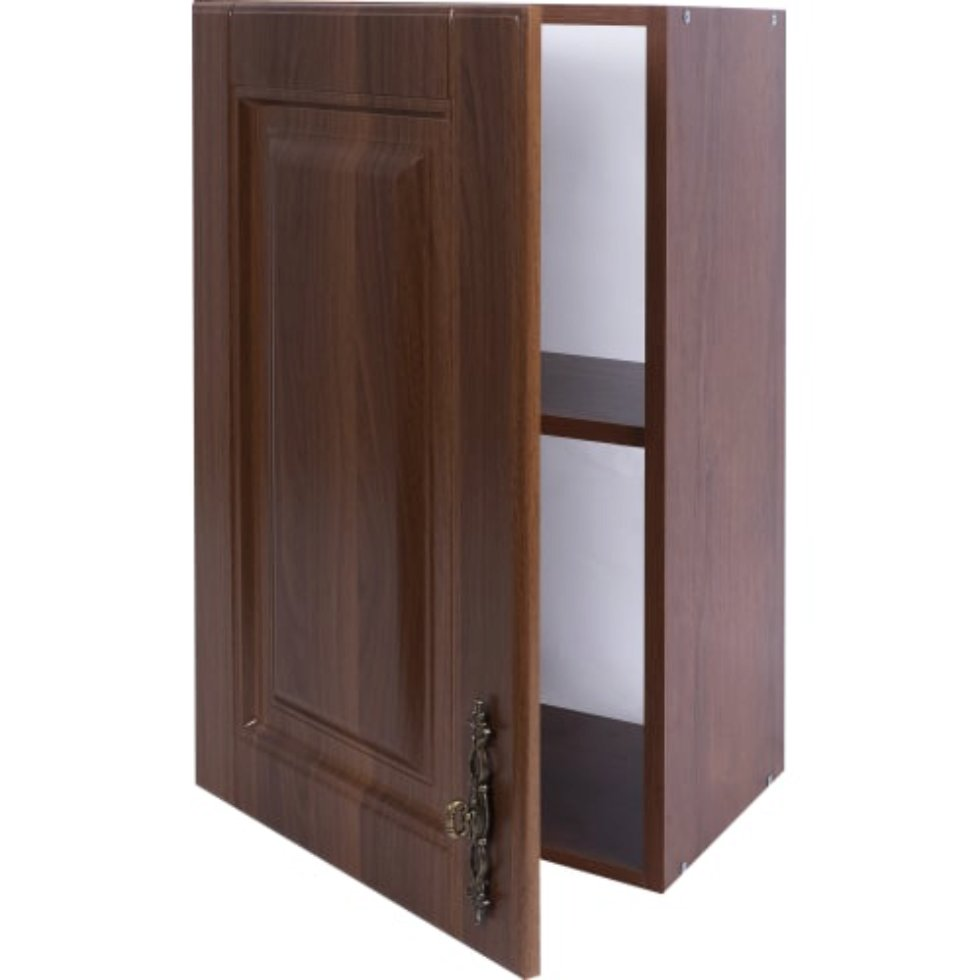 Шкаф навесной «Орех Р» 68х40 см, МДФ, цвет орех
