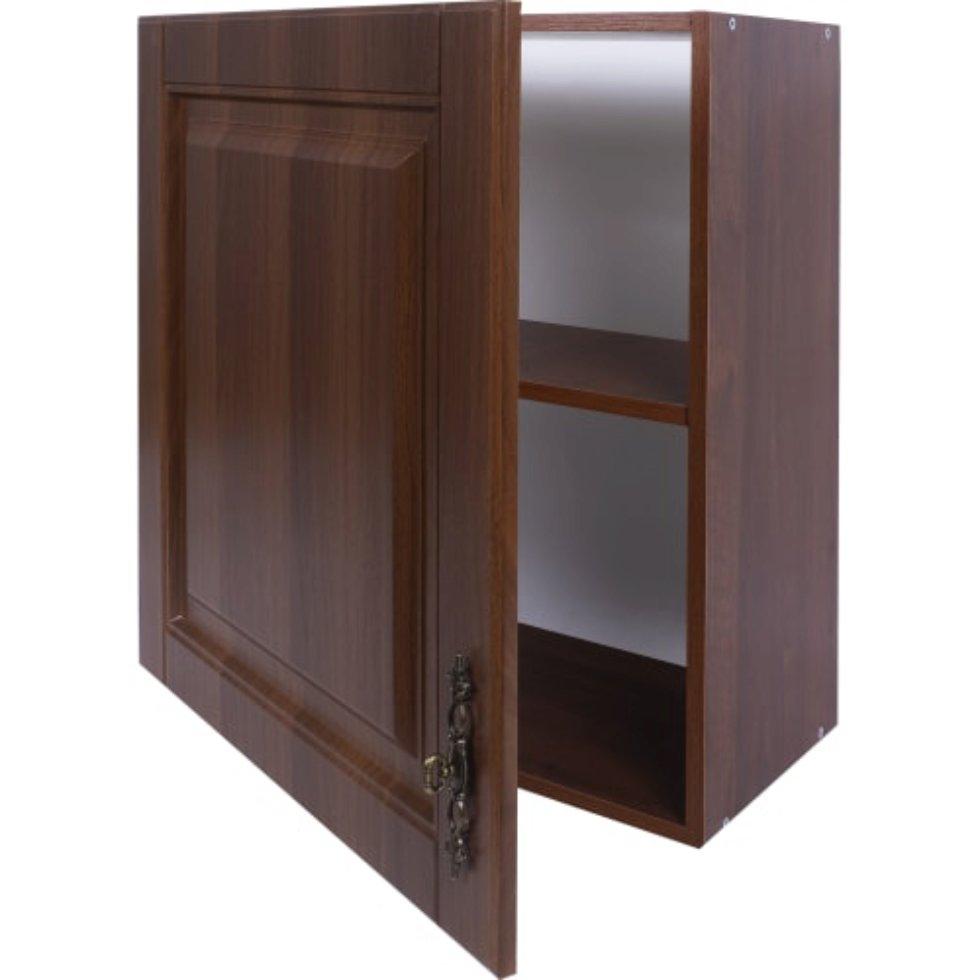 Шкаф навесной «Орех Р» 68х60 см, МДФ, цвет орех
