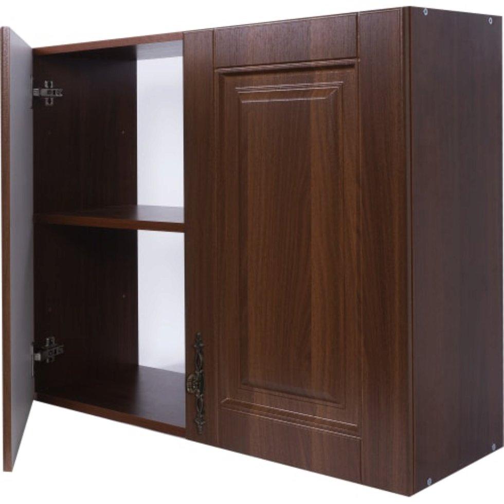 Шкаф навесной «Орех Р» 68х80 см, МДФ, цвет орех