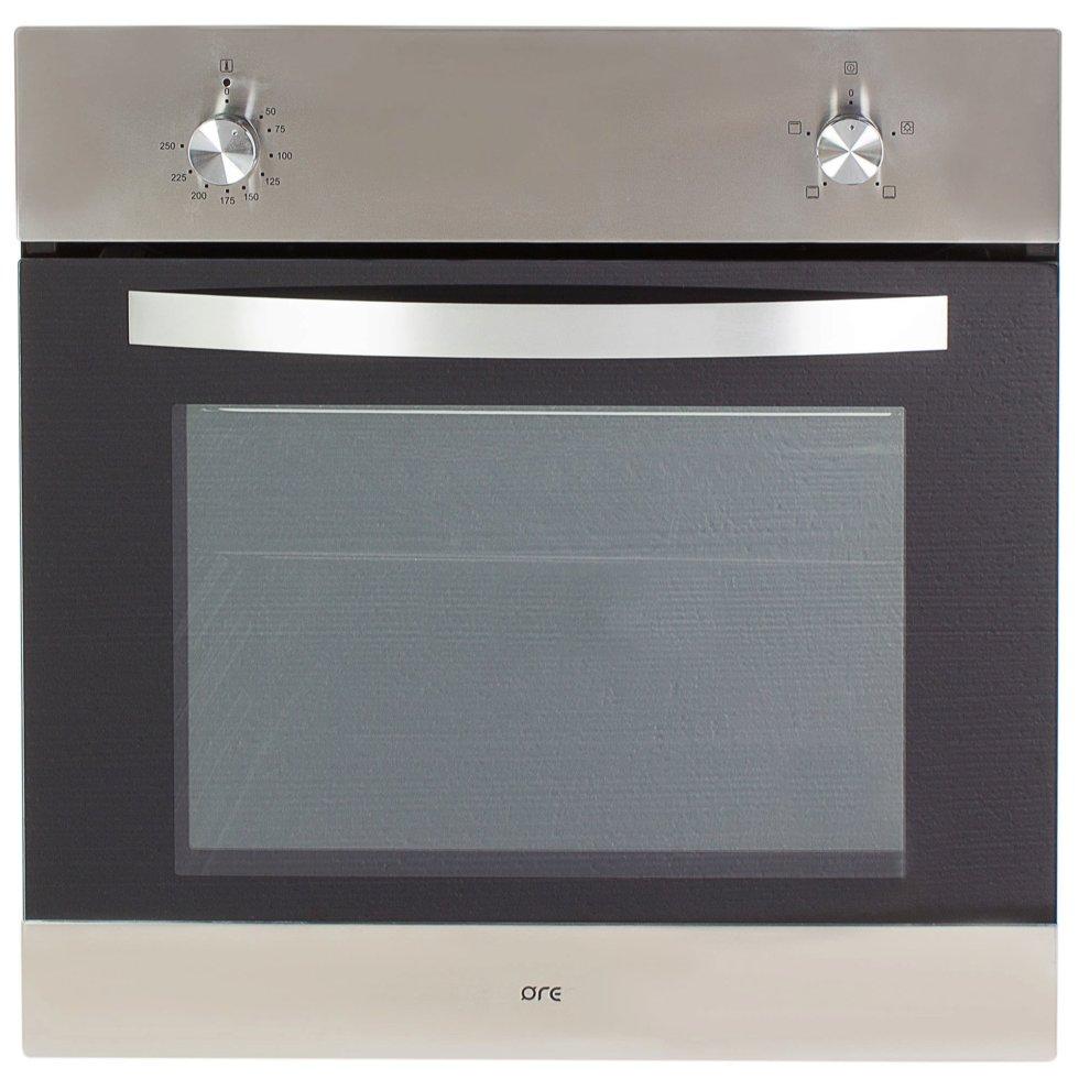 Духовой шкаф Ore VA60, 59.5x59.5 см, 2000 Вт, цвет нержавеющая сталь