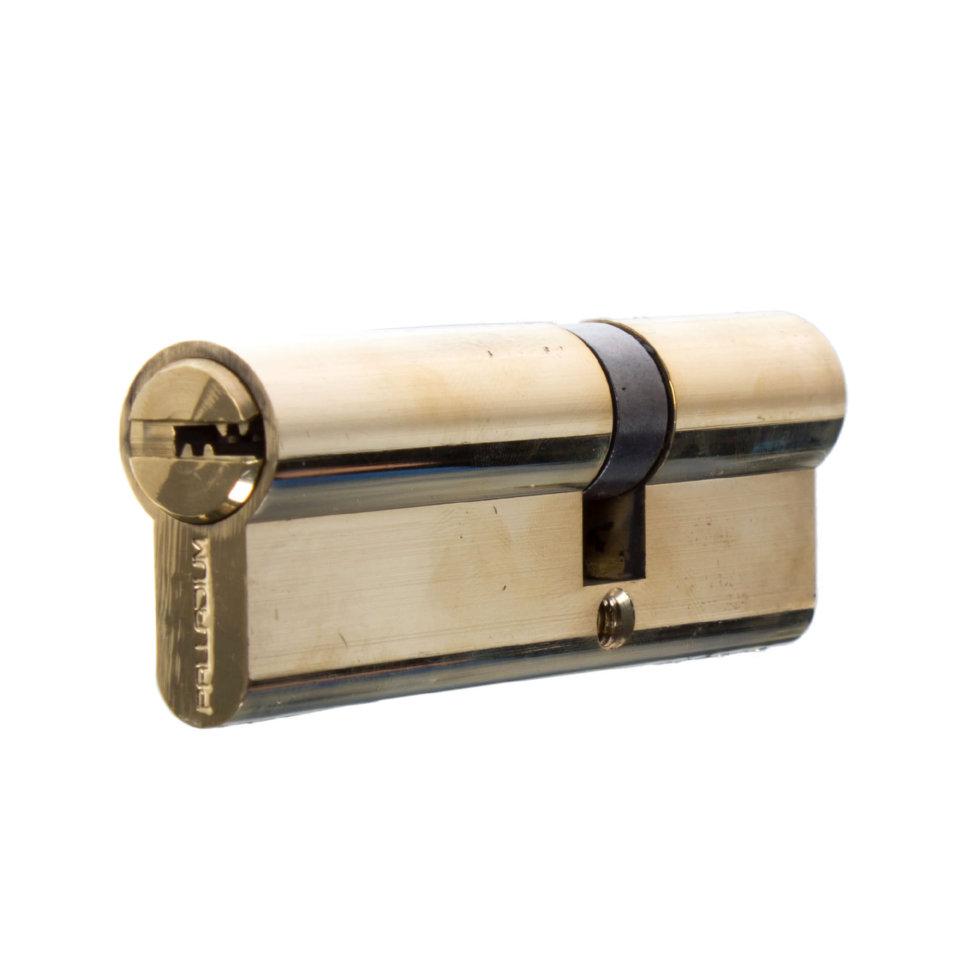 Цилиндр ключ/ключ 35х55 золото, 90 C ET PB