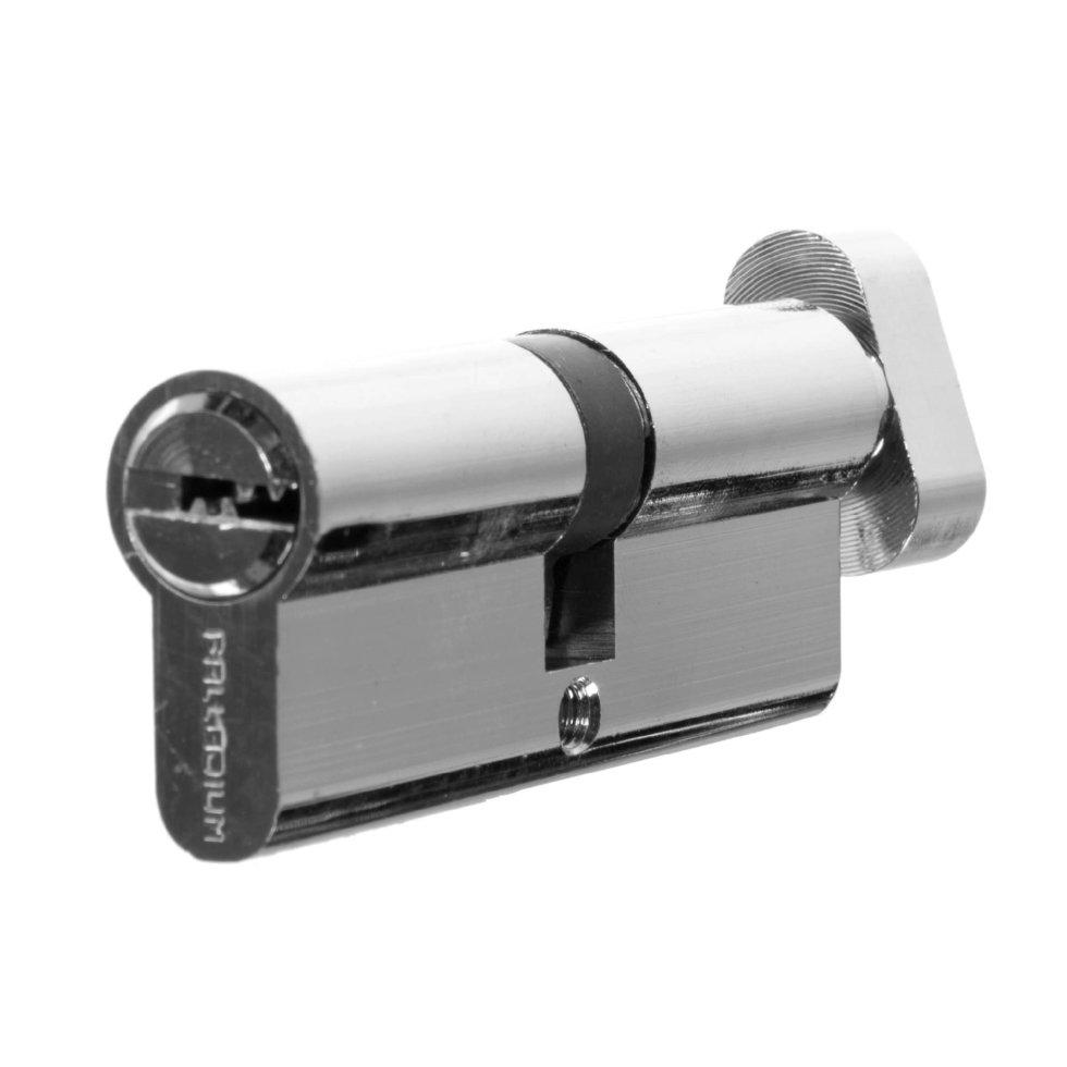 Цилиндр ключ/вертушка 40х40 бронза, 80 C BK CP