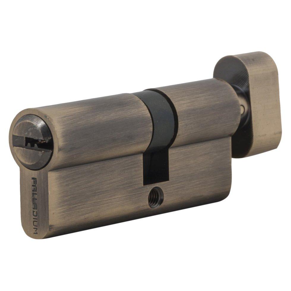 Цилиндр ключ/вертушка 30х40 бронза, C BK AB