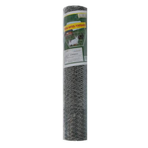 Сетка металлическая плетеная, 0.5х10 метров, диаметр 13 мм