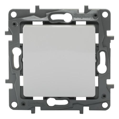 Выключатель проходной Legrand Etikа, 1 клавиша, цвет белый