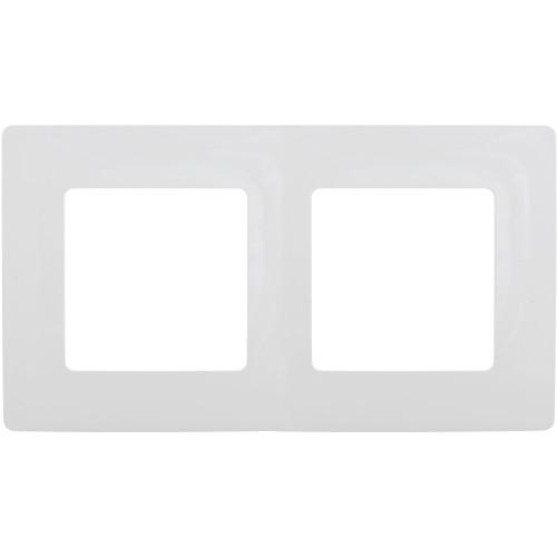 Рамка Legrand Etika, 2 поста, цвет белый