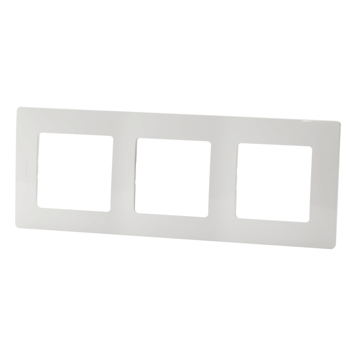 Рамка Legrand Etika, 3 поста, цвет белый