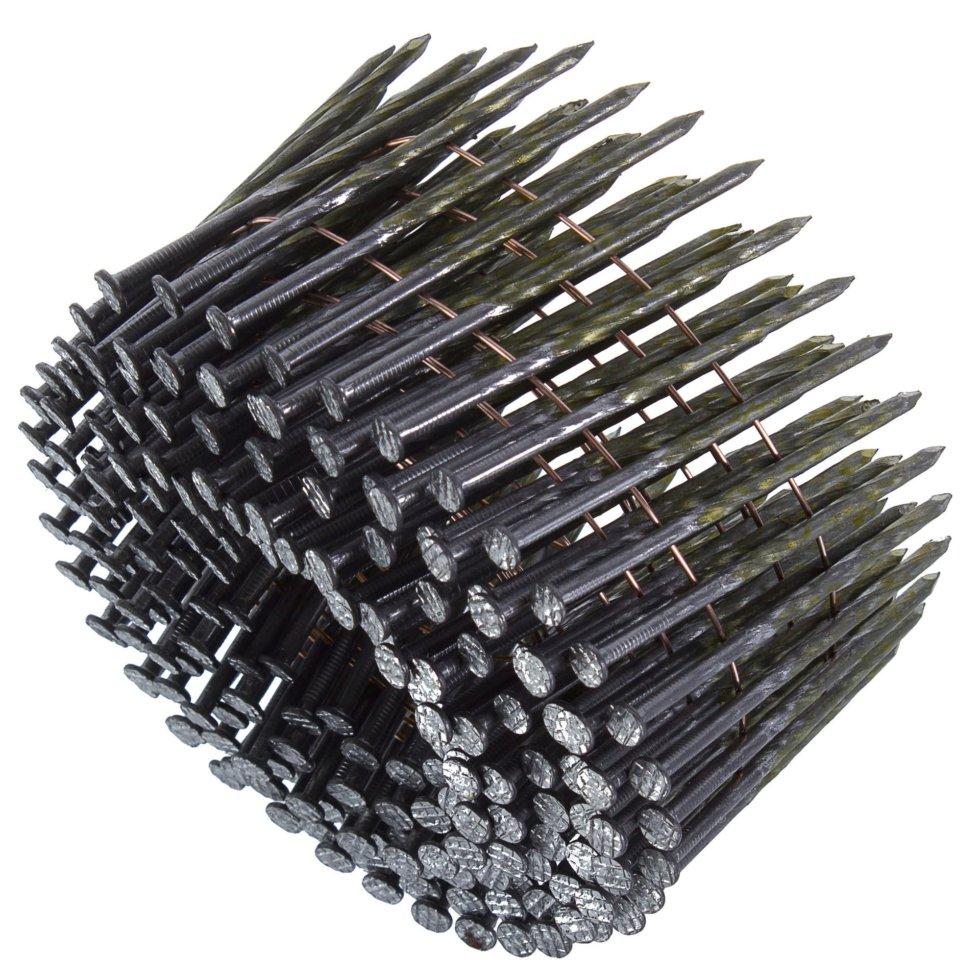 Гвозди строительные винтовые в обойме 2.5х60 мм, 200шт.
