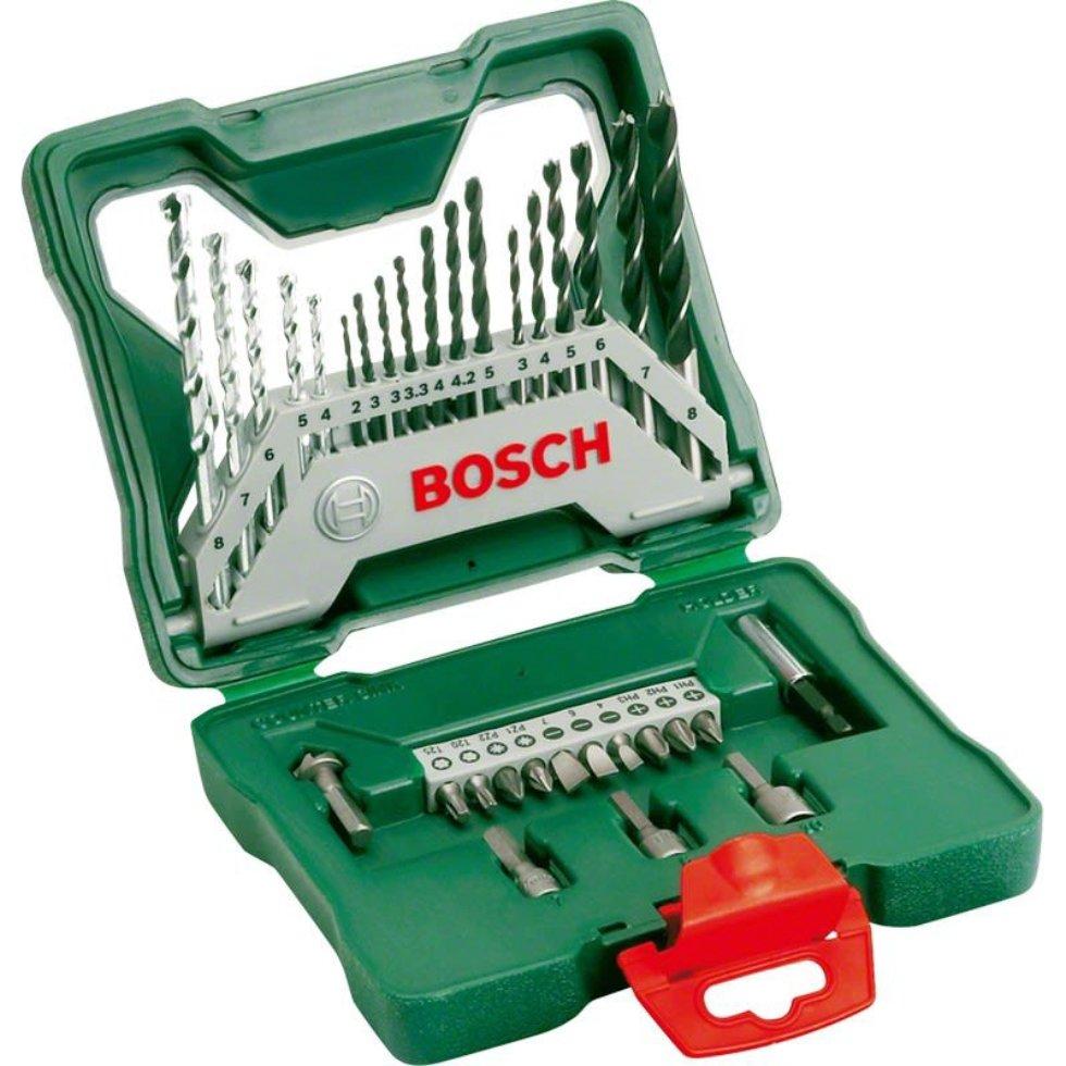 Набор сверл и бит Bosch X-Line-33, 33 предмета