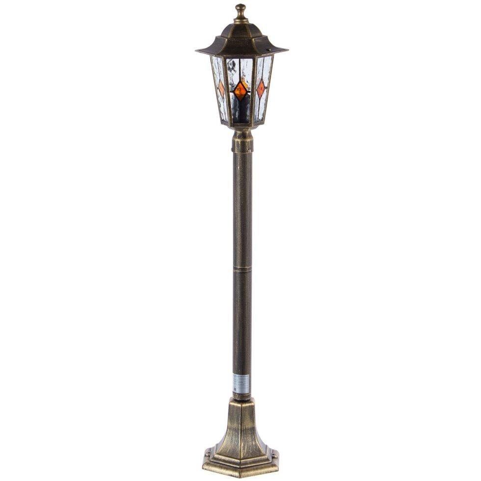 Столб уличный Inspire Tiffany 1xE27х60 Вт, 1 м, цвет золото