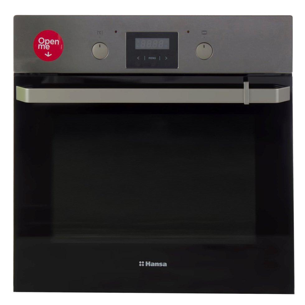 Духовой шкаф Hansa BOEI68462, 59.5x59.5 см, 3100 Вт, цвет нержавеющая сталь