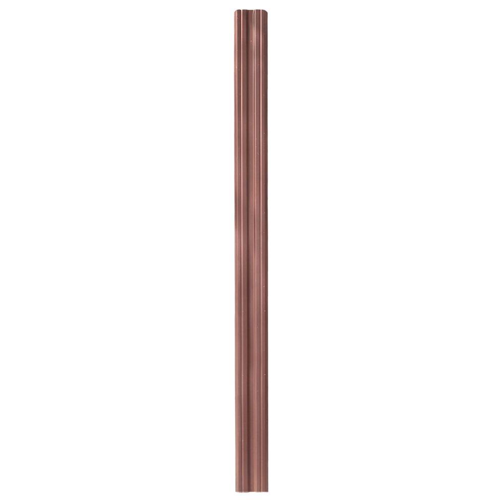 Евроштакетник 1.8 м цвет коричневый в упаковке 5 шт.