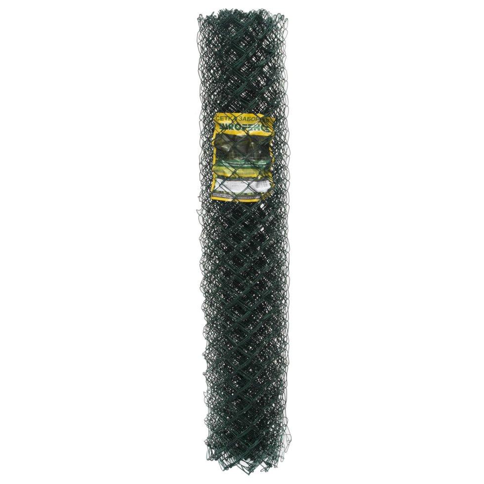 Сетка Рабица, материал ПВХ, размер ячейки 50х50 мм, размер сетки 1.5х10 м