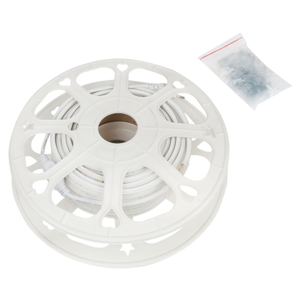 Набор светодиодной ленты 10-57, 15 м, 60 LED на м2, степень защиты IP44, свет тёплый белый