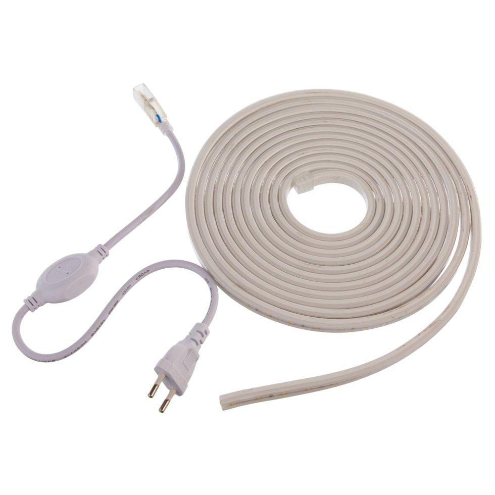 Набор светодиодной ленты 2835 5 м 60LED/м свет тёплый белый IP44