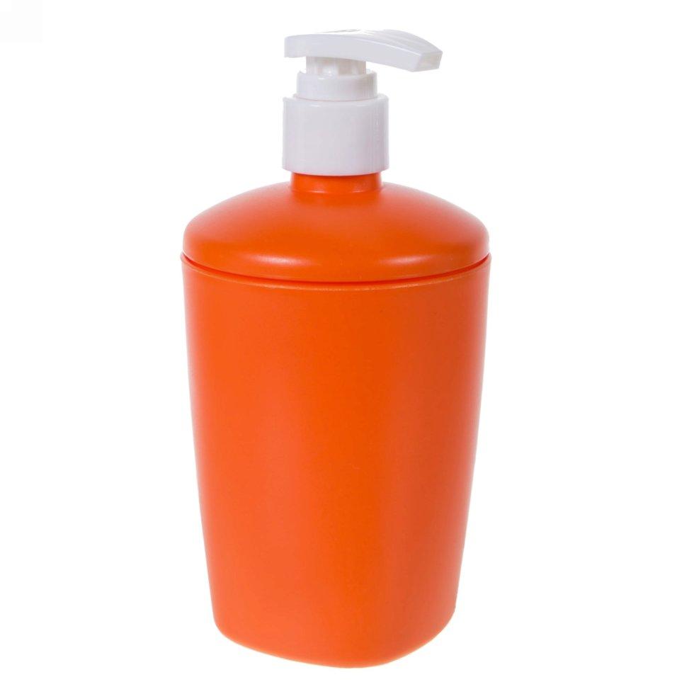 Дозатор для жидкого мыла настольный Беросси «Aqua» пластик цвет в ассортименте