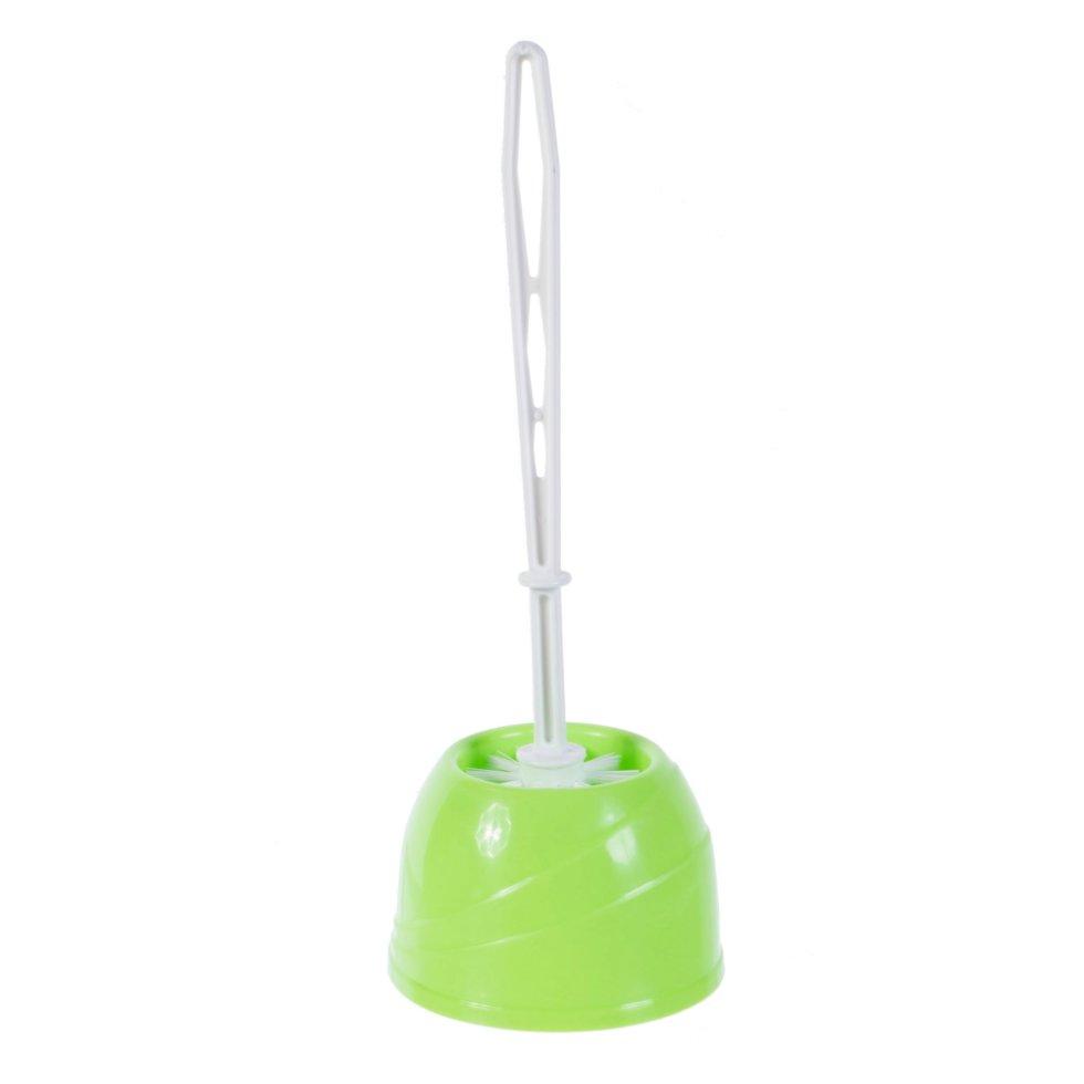 Ёршик для унитаза напольный Беросси «Aqua», пластик, в ассортименте